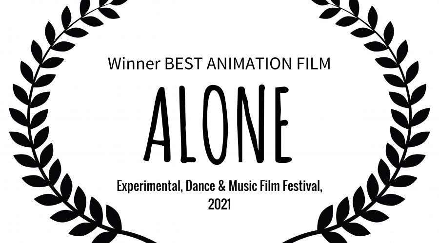'alone' video wins best animation at experimental film festival